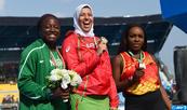 Championnats d'Afrique seniors : la Marocaine Soukaina Zakour décroche l'or du lancer du marteau