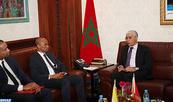 Entretiens à Rabat entre M. Talbi Alami et le ministre des Relations extérieures et de la Coopération de l'Union des Comores