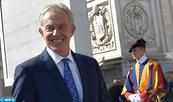 """Tony Blair: Je suis """"particulièrement heureux pour Sa Majesté le Roi"""""""