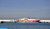 Mauvais temps: Trafic maritime suspendu entre Tanger-ville et Tarifa