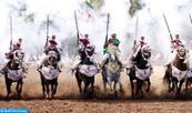 """18ème édition du Trophée Hassan II des arts équestres traditionnels """"Tbourida"""": 8 troupes quittent la compétition"""