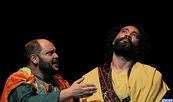 """La troupe """"l'instant théâtre"""" présente à Tunis sa pièce théâtrale """"Maqamat Badi Zaman Al-Hamadani"""""""