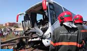 Accidents de la circulation: Baisse de 1,38% du nombre de morts en neuf mois