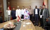Deux membres du Sénat nigérian en visite à Laâyoune