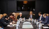 M. Yatim s'entretient avec l'experte indépendante des Nations unies sur les droits de l'Homme et la solidarité internationale