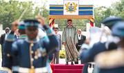 Cérémonie d'accueil officiel de SM le Roi à Accra