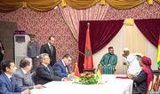 SM le Roi et le Chef de l'Etat guinéen président la cérémonie de signature de huit accords de coopération bilatérale
