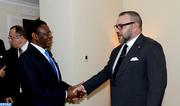 Entretiens en tête-à-tête à Addis-Abeba entre SM le Roi et le président de la République de Guinée Équatoriale