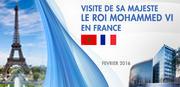 Visite de Sa Majesté le Roi Mohammed VI en France Février 2016