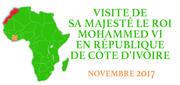 VISITE DE SM LE ROI EN RÉPUBLIQUE DE CÔTE D'IVOIRE NOVEMBRE 2017