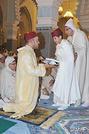SM le Roi, Amir Al-Mouminine, préside à la mosquée Mohammed V à Fnideq une veillée religieuse en commémoration de Laylat Al-Qadr