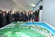 SM le Roi préside à Nador la cérémonie de signature de trois conventions relatives à l'aménagement des cités d'Atalayoun et des deux mers et à la création d'ensembles hôtelier et résidentiel touristiques