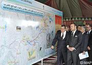 SM le Roi S'enquiert du programme de renforcement et de sécurisation de l'alimentation en eau potable du pôle Fès-Meknès, d'un coût global de plus de 2,6 MMDH