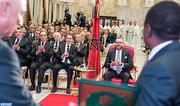 SM le Roi préside à Rabat la cérémonie de signature d'accords relatifs au projet du Gazoduc Nigéria-Maroc et à la coopération maroco-nigériane dans le domaine des engrais