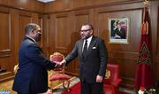 SM le Roi reçoit à Addis-Abeba l'ambassadeur du Swaziland en Éthiopie, porteur d'un message verbal du Roi du Swaziland