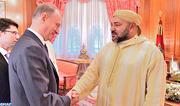 SM le Roi reçoit à Casablanca le secrétaire du Conseil de sécurité de la Fédération de Russie
