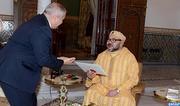 SM le Roi reçoit à Marrakech un émissaire de SM le Roi Abdallah II de Jordanie, porteur d'un message d'invitation au Souverain