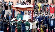 Arrivée de SM le Roi à Conakry pour une visite de travail et d'amitié en République de Guinée
