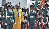Cérémonie d'accueil officielle de SM le Roi à Abuja