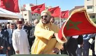 """Programme """"Tanger Métropole"""": SM le Roi lance le programme intégré de mise à niveau du quartier Tanja El Balia"""