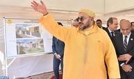 SM le Roi lance les travaux de réalisation du «Centre médical de proximité - Fondation Mohammed V pour la Solidarité» à l'arrondissement Beni Makada à Tanger