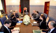 SM Le Roi préside à Tanger une séance de travail consacrée au secteur énergétique (Cabinet Royal)