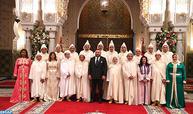 SM le Roi reçoit et nomme les membres du Conseil supérieur du pouvoir judiciaire