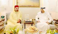 SM le Roi rend une visite de courtoisie et d'amitié au Serviteur des Lieux Saints de l'Islam en sa résidence à Tanger