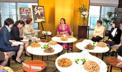 SAR la Princesse Lalla Hasnaa reçoit à Tokyo plusieurs femmes japonaises leaders dans différents domaines