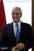 M. Abdelahad Fassi Fihri, ministre de l'Aménagement du territoire, de l'Urbanisme, de l'Habitat et de la Politique de la Ville