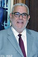 M. Abdelilah Benkirane, chef du gouvernement