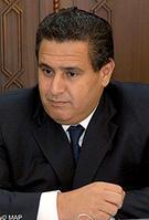 M. Aziz Akhannouch, ministre de l'Agriculture, de la Pêche maritime, du Développement rural et des Eaux et Forêts