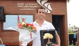 Bodyboard: Agadir rend hommage à Brahim Iddouch, vice-champion en Australie