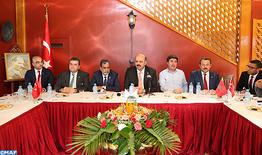 Le président du groupe turc de l'Assemblée parlementaire de l'UpM salue le discours Royal et les efforts déployés par le Royaume dans la lutte anti-terroriste