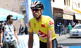 Le cycliste marocain Anass Ait El Abdia victime d'une chute au Tour d'Espagne, abandonne la compétition