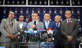 La majorité gouvernementale comprendra le PJD, le RNI, l'UC, le MP, l'USFP et le PPS (El Othmani)