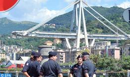 Effondrement en Italie: Un état d'urgence décrété pour un an à Gênes