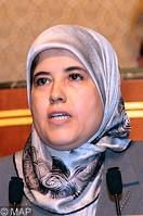 Mme Jamila El Moussali, Secrétaire d'Etat auprès du ministre du tourisme, du transport aérien, de l'artisanat, de l'économie sociale, chargée de l'artisanat et de l'économie sociale
