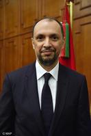M. Mohcine Jazouli, ministre délégué auprès du ministre des Affaires étrangères et de la Coopération internationale, chargé de la Coopération africaine