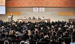 Le pape François exprime son soutien au Pacte mondial sur la migration