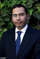 M. Mustapha El Khalfi, ministre délégué auprès du chef du gouvernement chargé des Relations avec le Parlement et la Société civile, porte-parole du gouvernement