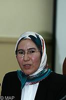 Nezha El Ouafi, Secrétaire d'Etat, chargée du développement durable