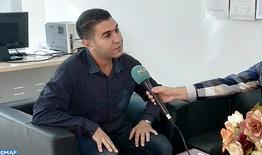 La formation professionnelle dans le secteur automobile, un choix de cœur et de raison pour Mohamed Al-Joulali
