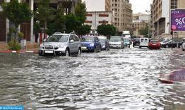 Fortes pluies parfois orageuses, lundi et mardi dans plusieurs régions du Royaume