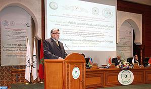 SM le Roi adresse un message à la 5ème Conférence islamique des ministres chargés de l'Enfance