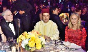 La Coalition Mondiale pour l'Espoir attribue à Sa Majesté le Roi le Prix de la Reconnaissance Spéciale du leadership dans la promotion de la tolérance et le rapprochement inter-culturel