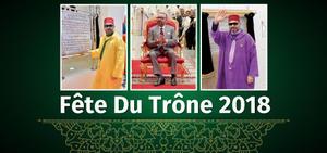 FÊTE DU TRÔNE 2018