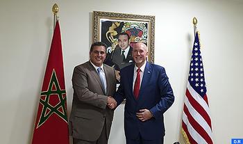 M. Akhannouch s'entretient à Marrakech avec le chef de l'Agence américaine de l'Agriculture des pays tiers au sein de l'USDA