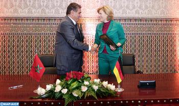 Marrakech: Signature d'une convention pour renforcer la durabilité de l'action du Centre de Conseil Agricole maroco-allemand