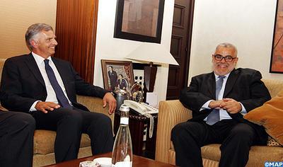 M benkirane s 39 entretient rabat avec le ministre des - Cabinet du ministre des affaires etrangeres ...